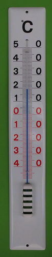 Emaillethermometer 80 cm
